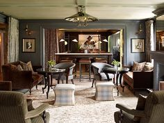Lounge of The Krebs restaurant. Opened in 1899 and recently restored to its finest. Interiors by Ray Booth. Masonite Interior Doors, Weekend House, Interior Decorating, Interior Design, Commercial Interiors, Architectural Digest, Living Area, Living Rooms, Living Spaces
