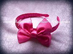 Polkadot headband and bow