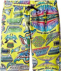8ae22a00ae94 Moschino Kids Boys All Over Logo Print Shorts Big Kids Multi Shorts    See  this