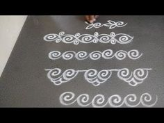 Rangoli designs awe-inspiring designs for your home Rangoli Side Designs, Simple Rangoli Border Designs, Easy Rangoli Designs Diwali, Rangoli Designs Latest, Rangoli Borders, Free Hand Rangoli Design, Small Rangoli Design, Rangoli Designs With Dots, Beautiful Rangoli Designs
