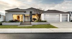 Frontage colours Ku De Ta Display Home | Summit New Homes