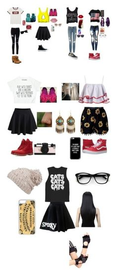 """""""the stuff i really like"""" by blackveilbridesismybae on Polyvore featuring Vans, Chicnova Fashion, WithChic, Frame Denim, Miss Selfridge, Converse, Casetify, Lime Crime, Yves Saint Laurent and Ray-Ban"""