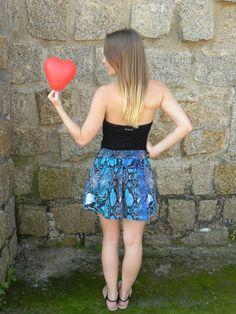 Mini Saia Amor 2 - #mundoshakti #emoções #boho #bohochic #moda #verão2016