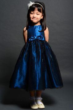 Eden Princess Flower Girl Dresses - Style 12358 #blue #flowergirl #dresses
