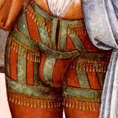 6. More pronounced codpieces worn in italian renaissance, in 16th century