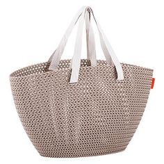 Sand Knit Market Tote Shop Storage, Small Storage, Container Store, Straw Bag, Product Launch, Storage Basket, Marketing, Tote Bag, Knitting
