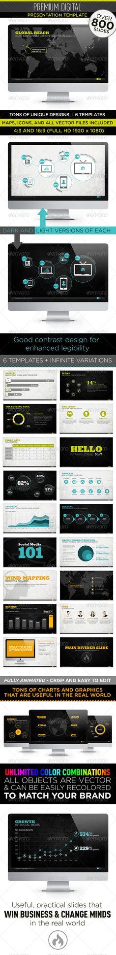 Page Elegant Powerpoint Template Monoxide  Fonts