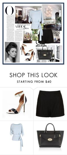 """""""Summer time"""" by agawloch ❤ liked on Polyvore featuring Topshop, Anne Valérie Hash and Mulberry"""