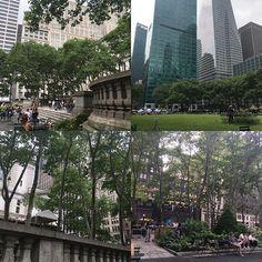 Bryant park NY #newyork #bryantpark #parkofnyc #happymoment #midtown#
