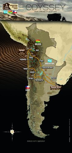 Dakar Rally 2015 - Location Information