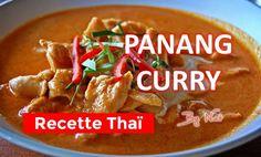 La recette thailandaise détaillée du Panang Curry
