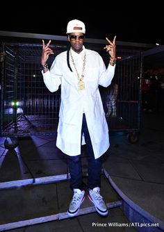 "2 Chainz in the Air Jordan 3 ""Fire Red"""