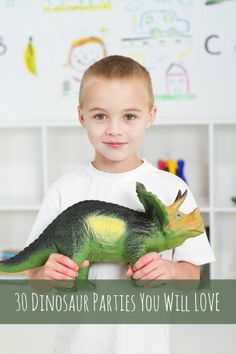 30 Dinosaur Parties You Will Love - This has so many awesome ideas from the best dinosaur parties.