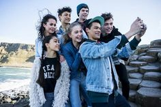 The Lodge cast Disney Channel Shows, Disney Shows, Disney Fun, Disney Movies, The Lodge Disney, Frozen Pictures, Thomas Doherty, Celebrity Wallpapers, Girl Meets World