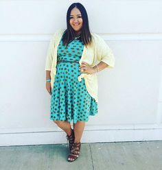 Have you tried wearing a Nicole dress belted and layered with a Lindsay kimono?