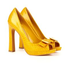 because yellow shoes go with everything