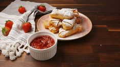 Cheesecake Egg Rolls - Delish.com