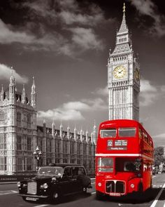 """The Big Ben"" Londra. Inghilterra."