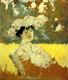 Woman with a Hat Edouard Vuillard - 1901