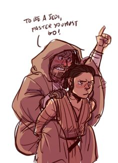 dog-fur:  if this ~jedi training montage~ doesn't happen in episode VIII i'm gonna cry