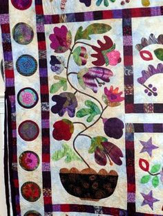 Glorious Applique: Kim McLean Hearts and Flowers Quilt