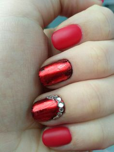 Red and transfer foil