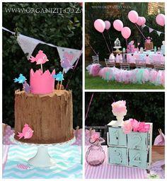 Woodland Princess Birthday Party via Kara's Party Ideas KarasPartyIdeas.com (1)
