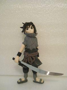 Sasuke in fimo e altri materiali