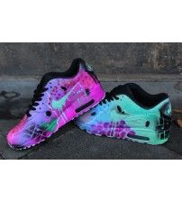 1835821774 Air Max 90 Candy Drip Lovely Pink Green Trainer Outlet Green Trainers, Nike  Trainers,