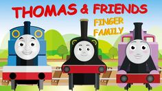 Thomas and Friends Family | Thomas and Friends Finger Family Nursery Rhy...