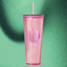 Starbucks Pink Glitter Stainless Steel Tumbler 12 Oz 2020 Winter Collection!