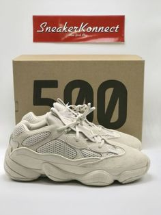 fdf6b541bf031 Adidas Yeezy 500 Desert Rat Blush Size 9 Boost Excellent Condition