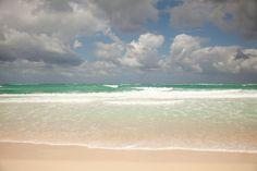 blue beach waves