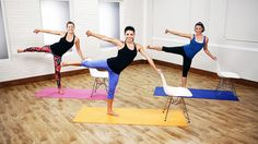 Can't make it to a fancy studio? Don't worry, you can try the workout at home first!