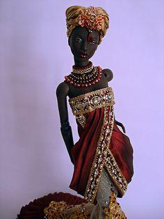 """Numina Ajuma wearing Cho:lo's """"Prerna""""   Flickr - Photo Sharing!"""