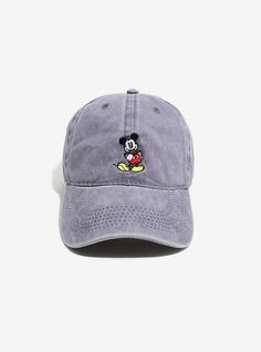 Disney Mickey Mouse Charcoal Dad Hat 9f38c6cb0c39