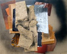 Eunice (Jensen) Parsons, Thinking of Braque, collage 2011