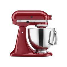 Classic and powerful enough  KitchenAid Artisan Tilt-Head Stand Mixer.  #mixer #ComfyHut #kitchenaid #kitchen #cooking