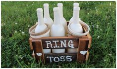 Wedding Games For Guests Activities Ring Toss Ideas - Fun Wedding Wedding Games And Activities, Lawn Games Wedding, Wedding Games For Guests, Wedding With Kids, Jenga Wedding, Wedding Favours For Children, Games For Weddings, Children Wedding Activities, Kids Wedding Ideas