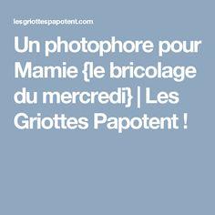 Un photophore pour Mamie {le bricolage du mercredi} | Les Griottes Papotent !