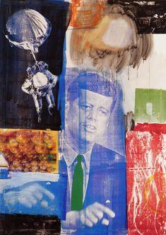 Retroactive I, 1964. Óleo y serigrafía sobre lienzo,213.4 x 152.4 cm, Wadsworth Athenuem, Hartford, Connecticut, Estados Unidos