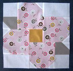 Beautiful - patchwork flower tutorial