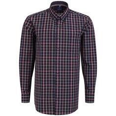 """Ανδρικό Πουκάμισο """"Plaid Renegate"""" Redmond 100% Βαμβάκι Cotton Shirts For Men, Suit Jacket, Plaid, Shirt Dress, Suits, Easy, Mens Tops, Jackets, Collection"""