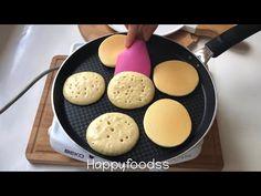 Sadece 1 yumurta ile,tam ölçülü sünger pankek ✔️ - YouTube Griddles, Griddle Pan, Tart, Waffles, Kitchen, Noel, Cooking, Cake, Plates