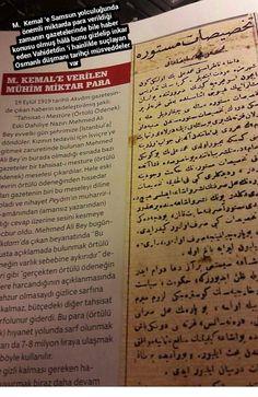 M.  Kemal 'e Samsun yolculuğunda önemli miktarda para verildiği zamanın gazetelerinde bile haber konusu olmuş hâlâ bunu gizlelip inkar eden Vahidetdin 'i hainlikle suçlayan Osmanlı düşmanı tarihçi müsveddeler var