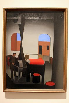 George Ault, The Mill Room, 1923.