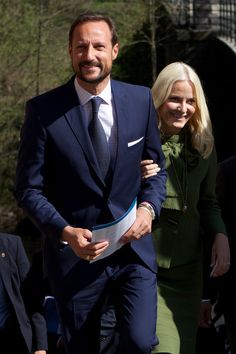 Crown Prince Haakon and Crown Princess Mette-Marit attended the 25th anniversary of the CICERO (Center for International Climate and Environmental Research) in Oslo