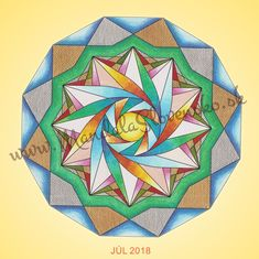 Júl 2018. Afirmácia: Dovoľujem si žiť naplno. #mandala #instamandala #mandalaslovensko #mandalaslovakia #sacredgeometry #handpaint #nothingelsebutlove #support #earth #healingart #july #healingart #sacredgeometry #newearth #art #handmade #affirmations #zezula-art Accessories, Mandalas