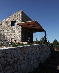 Refugio en la Vall de Laguar, Alicante.  Borja García, Jorge Cortés, Sergio García-Gasco arquitectos