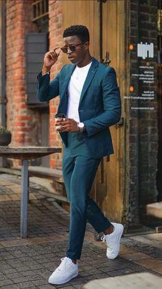 Business Casual Men, Business Outfits, Blazer Outfits, Casual Outfits, Suit Fashion, Mens Fashion, Summer Outfits Men, Classy Men, Stylish Men